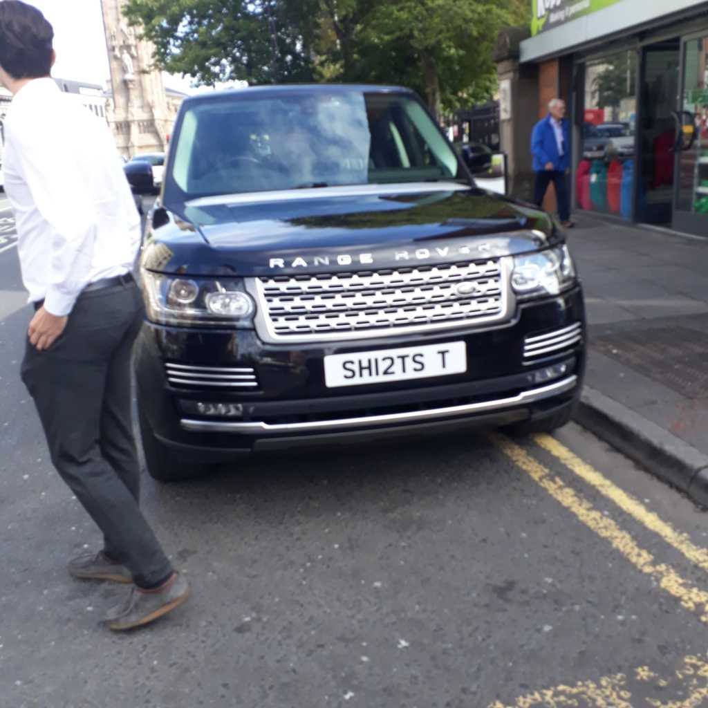 SHI2TS T displaying Selfish Parking