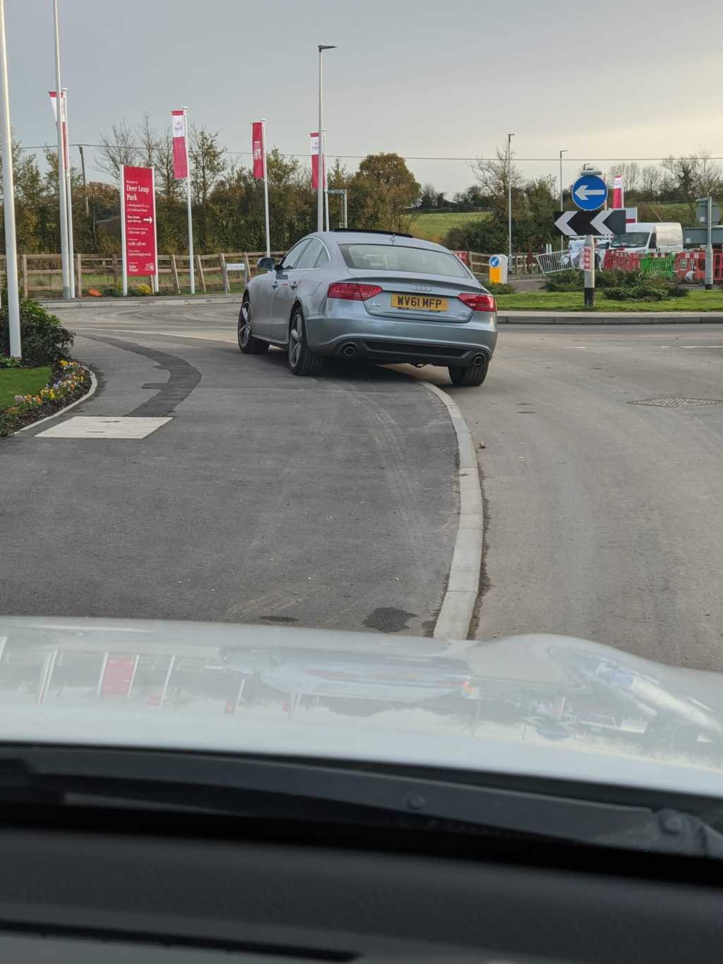 WV61 MFP displaying Inconsiderate Parking