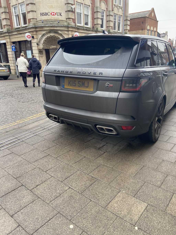 K15 SMJ displaying Selfish Parking