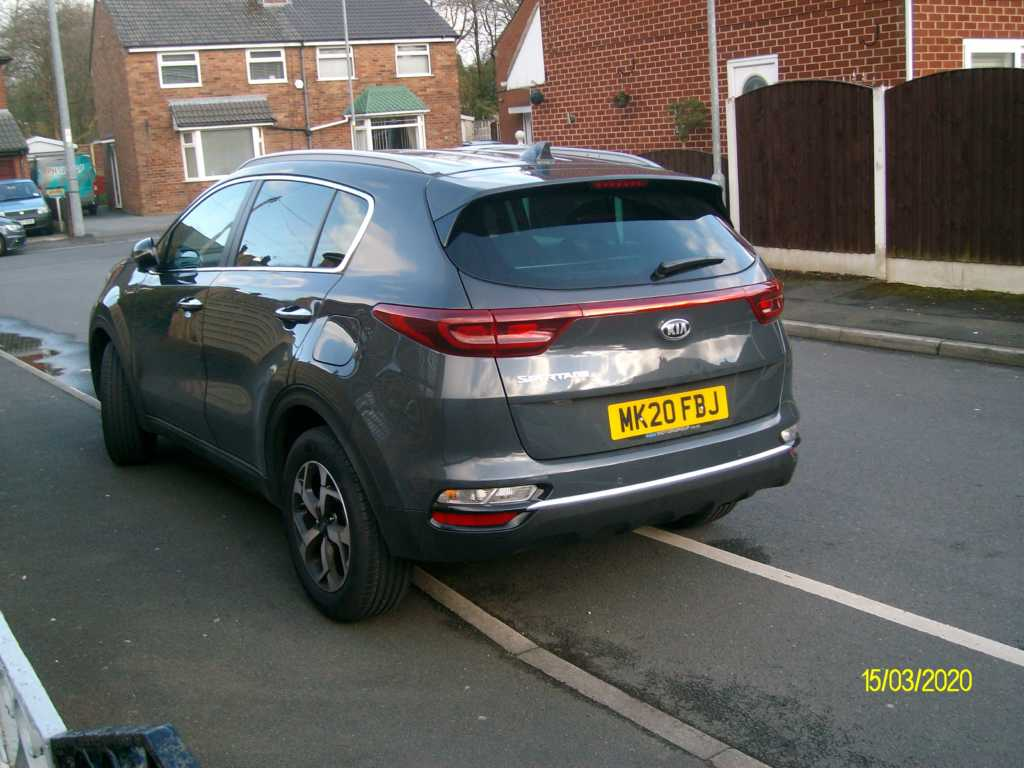 MK20 FBJ displaying Inconsiderate Parking