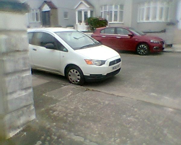 WG62 DXT displaying crap parking