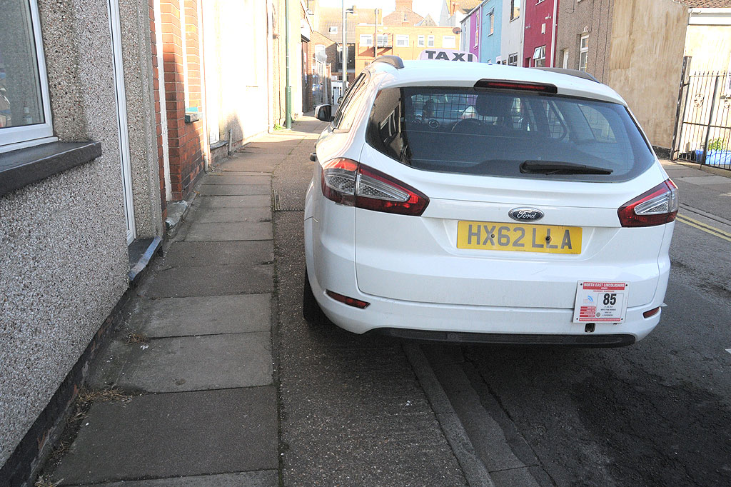 HX62 LLA is an Inconsiderate Parker
