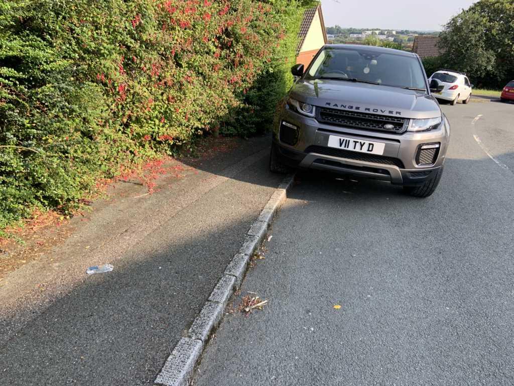 V11TYD is a crap parker